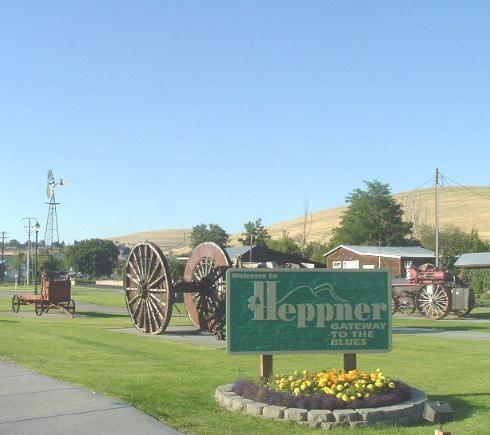Heppner Sign