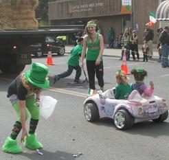 St Pats parade heppner